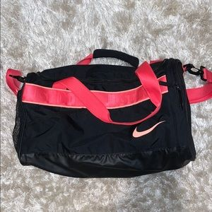 Nike PINK duffle bag
